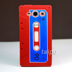 Husa silicon model caseta Samsung Galaxy S3 i9300 + folie ecran + expediere gratuita Posta - sell by PHONICA