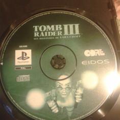 Vand joc PS1, PLAYSTATION 1, TOMB RAIDER III ADVENTURA OF LARA CROFT, colectie