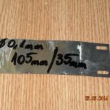 FOITA ALUMINIU DE CONDENSATOR  105mm/35 mm