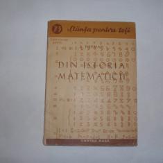 I.DEPMAN DIN ISTORIA MATEMATICII,RF1/2