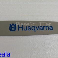 Lama compatibila Drujba Husqvarna ( Husvarna ) 136 / 137 / 235 / 235e ( 32cm / 28 dinti / pas 3/25 )