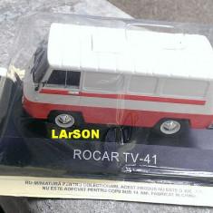 Macheta Rocar TV-41 1967+ revista DeAgostini Masini de Legenda nr.61, scara 1/43