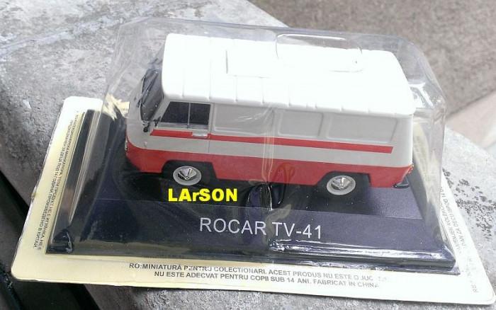 Macheta Rocar TV-41 1967 - DeAgostini Masini de Legenda 1/43