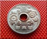 Moneda EXOTICA 50 YENI - JAPONIA, anul 1974  *cod 27  UNC+ EROARE DE BATERE!
