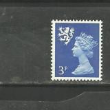 SCOTIA 1971 - REGINA ELISABETA, timbru nestampilat S265 - Timbre straine