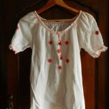 Camasa / ie traditionala foarte frumoasa. - Costum populare, Marime: 38, Culoare: Alb