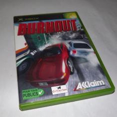 Joc Xbox classic - Burnout - Jocuri Xbox Altele, Curse auto-moto, Toate varstele, Single player