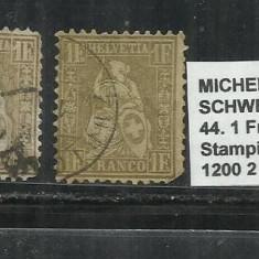 ELVETIA 1881 - 44. 1 Fr.