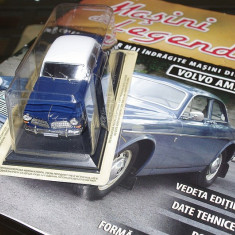 Masini de legenda - Volvo 120 Amazon + revista - scara 1:43 - Macheta auto