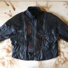 Geaca vintage piele naturala Le Cugno Sportif Special Leather;marime XL;impecabi - Geaca barbati, Culoare: Din imagine