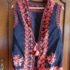 Vesta / ilic costum popular foarte frumos de femeie. - Costum populare