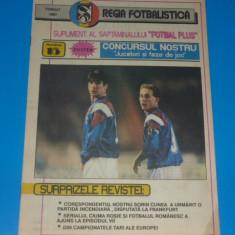 Program meci fotbal SPORTUL STUDENTESC Bucuresti - SELENA Bacau - noiembrie 1992