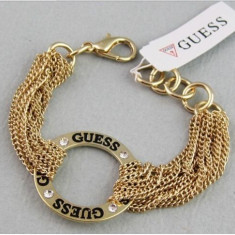 Bratara Fashion GUESS - Auriu