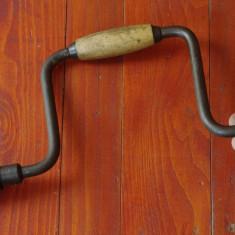 Scule / unelte - coarba / masina de gaurit manuala cu mandrina !!! - Metal/Fonta
