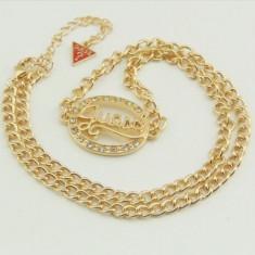 Pandantiv / Colier / Lantisor Fashion 2014 GUESS Culoare Auriu