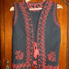 Ilic / vesta costum popular foarte frumos de femeie. - Costum populare