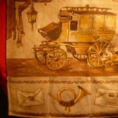 Postalionul postei imprimat pe panza de sac cu 3 buzunarele - pt.perete