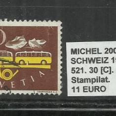 ELVETIA 1949 - 521, 30C