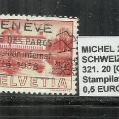 ELVETIA 1938 -321. 20C.