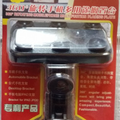 Suport auto cu ventuze pentru telefon, Iphone, ipad, gps, smartphone