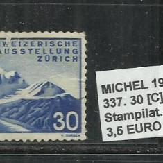 ELVETIA 1939 - 337, 30C.