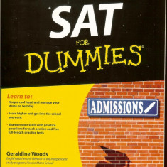 SAT for  DUMMIES, Admission, pentru testele nationale SUA si Anglia