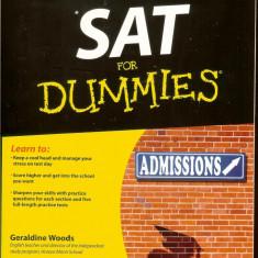 SAT for DUMMIES, Admission, pentru testele nationale SUA si Anglia - Carte Teste Nationale