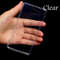 Husa SONY Xperia M2 TPU 0.3mm Transparenta - Husa Telefon Sony, Gel TPU, Fara snur, Carcasa