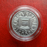 Moneda argint 1/2 Schilling 1925 in capsula Lindner