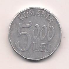No(3) moneda-ROMANIA-5000 Lei 2003