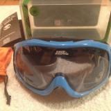 Ochelari Ski / Snowboard No Fear Lentila dubla, rama albastra