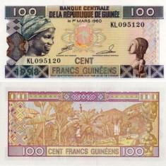 Guineea 100 franci 1998 UNC