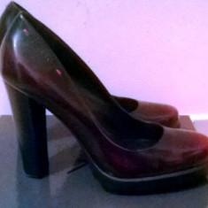 Vand pantofi dama calvin klein originali okazie!!! - Pantof dama Calvin Klein, Culoare: Negru, Marime: 38, Piele naturala, Negru