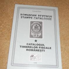 CATALOGUL TIMBRELOR FISCALE ROMANESTI 1995 laszlo eros