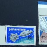 LP 702 Apollo 9 si 10 - Timbre Romania, Nestampilat