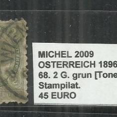 AUSTRIA 1896 - 68, 2G.