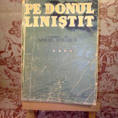 Mihail Solohov - Pe donul linistit vol. IV - Roman