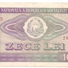 Bancnota-ROMANIA-10 Lei 1966