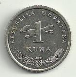 CROATIA 1 KUNA 2005 [1] XF Livrare in cartonas!, Europa