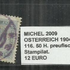 AUSTRIA 1904 - 116, 50H.