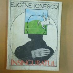 Eugen Ionescu Insinguratul Bucuresti 1990 - Roman