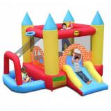 Complex de joaca gonflabil 4 in 1 pentru copii intre 3 si 10 ani, 300 x 280 x 210 cm, folosit de 3 ori