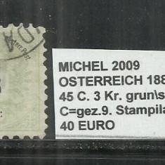 AUSTRIA 1883 -4445 c. 3 Kr.
