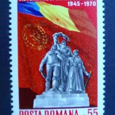 LP 727 25 de ani de la victoria asupra fascismului - Timbre Romania, Nestampilat