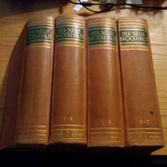 DER NEUE BROCKHAUS -- 4 volume * editate 1937-1939 - Enciclopedie