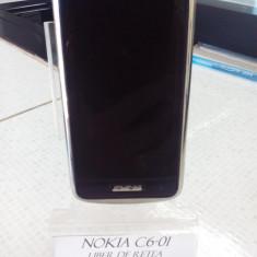 NOKIA C6-01, LIBER DE RETEA (LT) - Telefon mobil Nokia C6-01, Negru, <1GB, Neblocat, Single SIM, Fara procesor