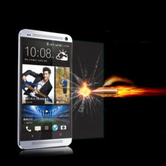 Folie protectie ecran antisoc Tempered Glass HTC ONE M7 + expediere gratuita Posta - sell by Phonica