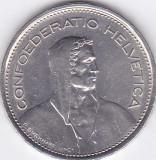 Moneda Elvetia 5 Franci 1968B - KM#40a.1 XF