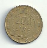 ITALIA  200  LIRE  1978  [2]  livrare in cartonas, Europa, Cupru-Nichel