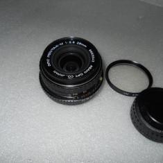 OBIECTIV PENTAX-M 28mm 2.8 - Obiectiv DSLR Pentax, Pentax - K